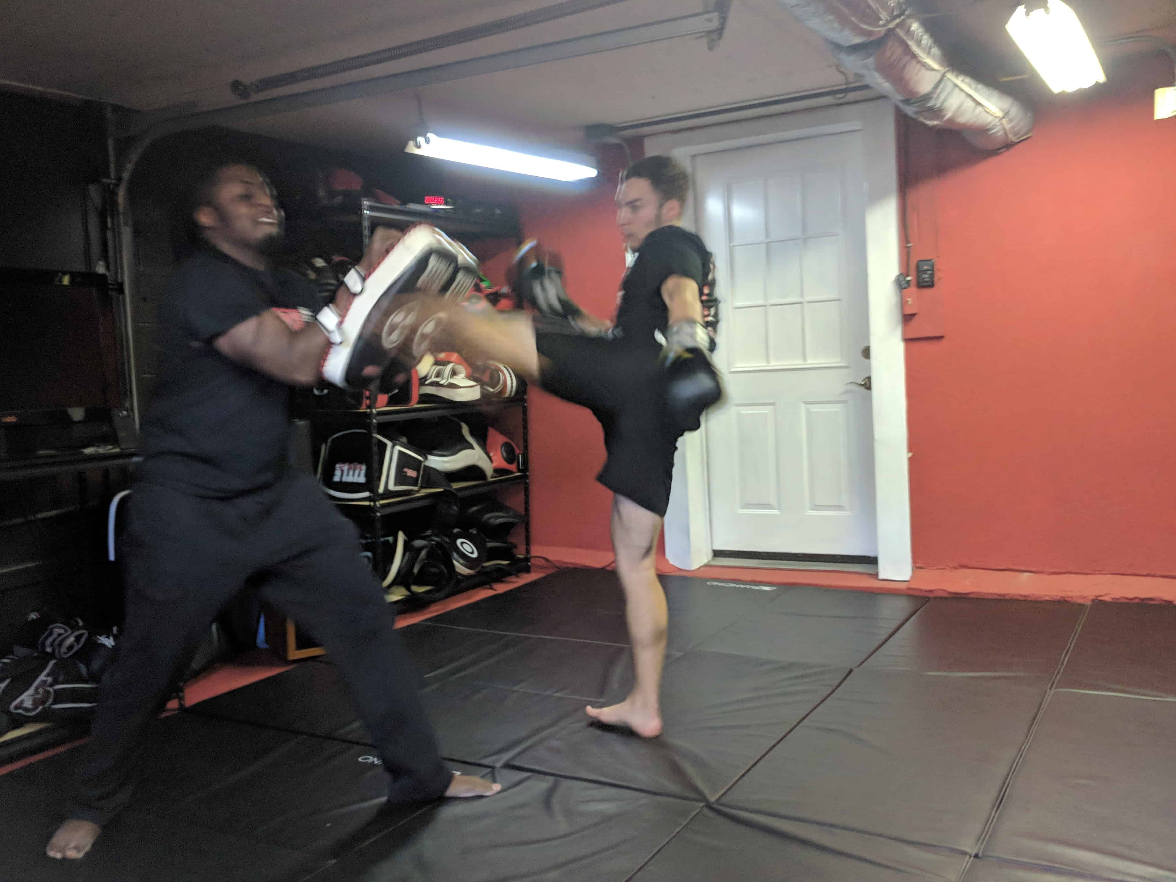 learn muay thai training